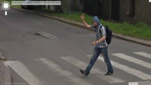 Google Street View: Peace :)