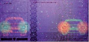Dowód rejestracyjny w świetle UV