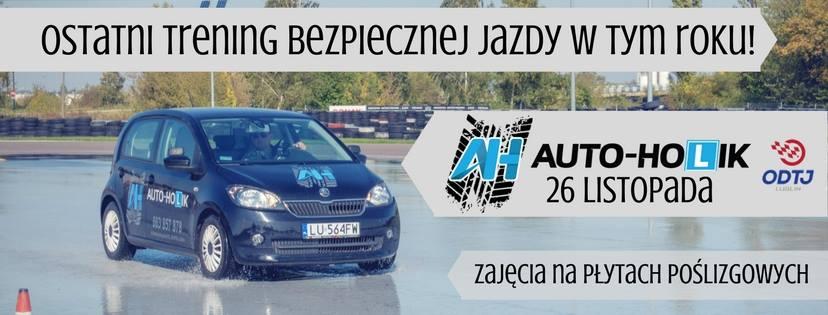 Trening bezpiecznej jazdy Rafał Michalczak Lublin Auto-Holik