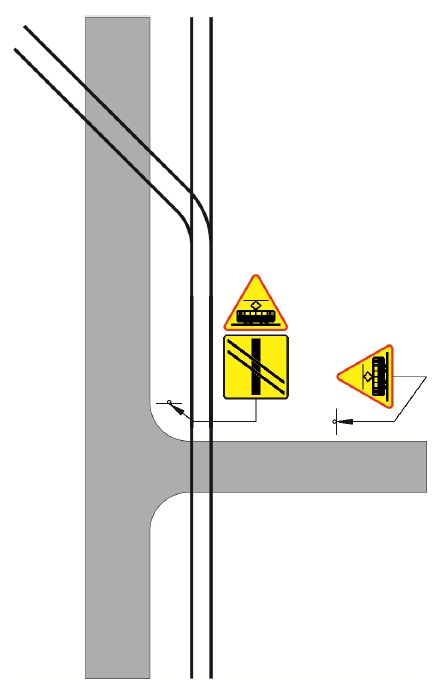 Przykład zastosowania znaku A-21